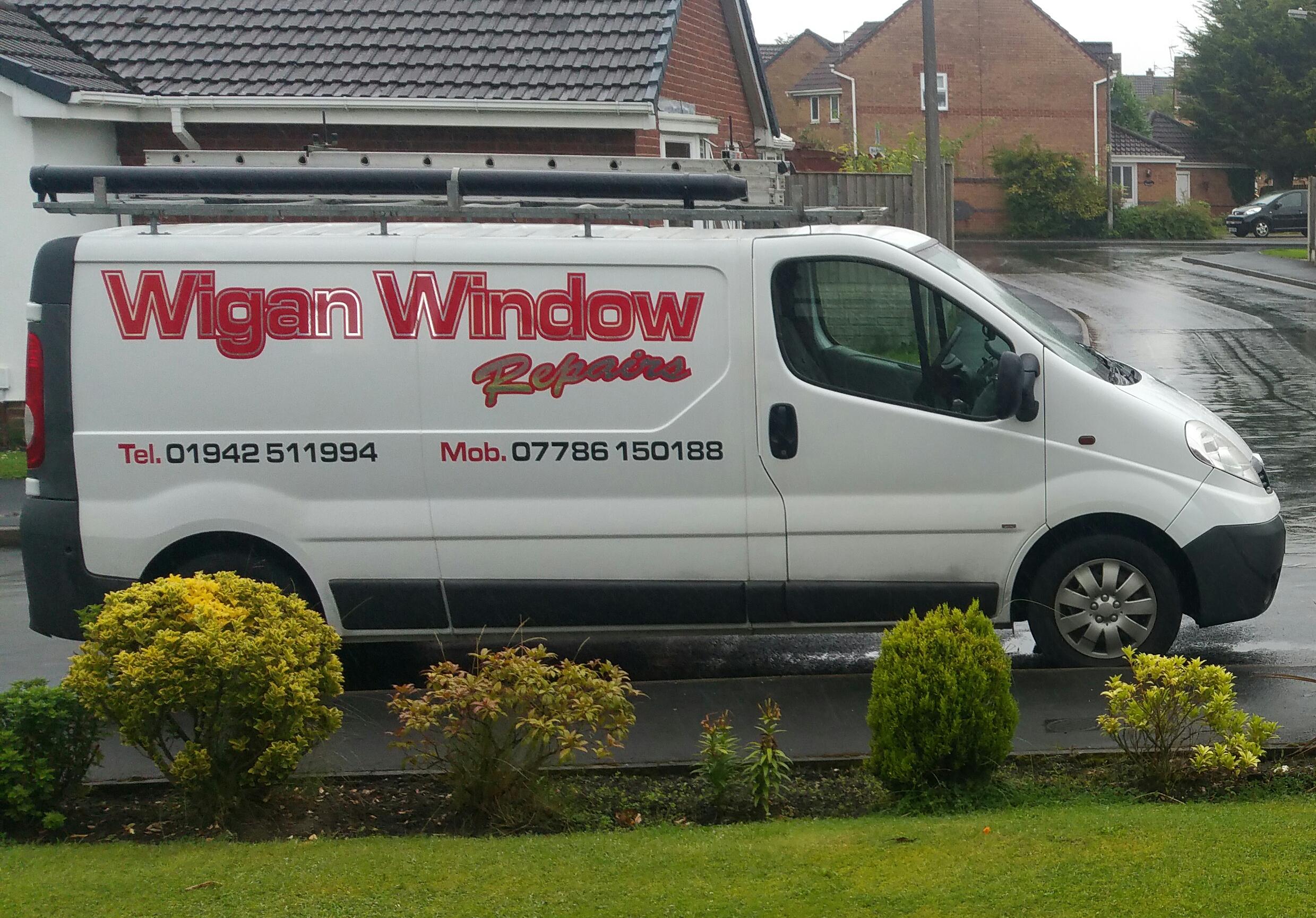 Wigan Window Repairs Van