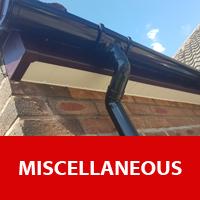 Facias soffits guttering gates fences Wigan Window Repairs